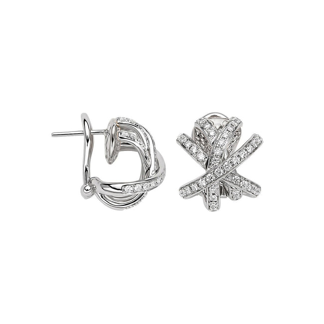 Fope Solo Venezia Earrings OR662 PAVE