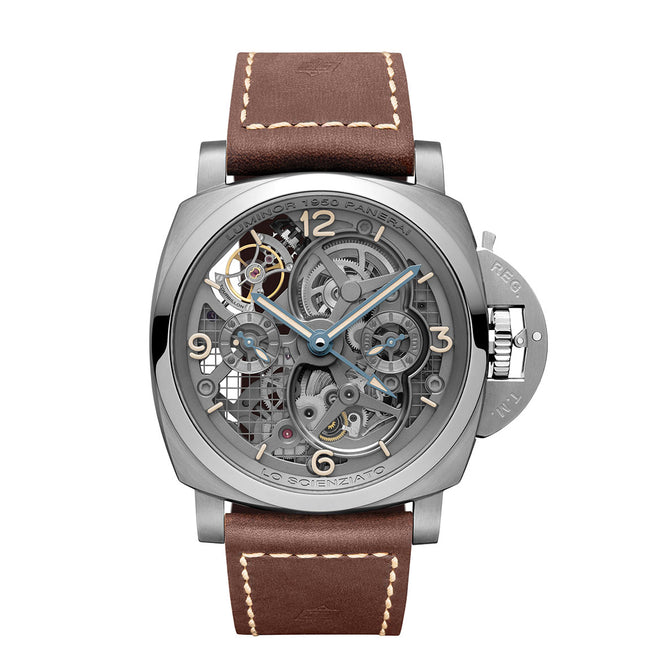 Panerai Lo Scienzato Luminor 1950 Tourbillon GMT
