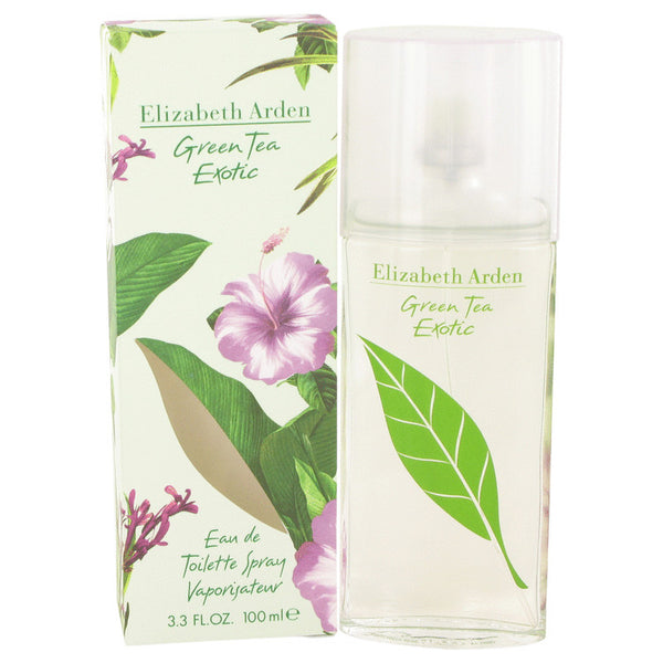Green Tea Exotic Eau De Toilette Spray By Elizabeth Arden