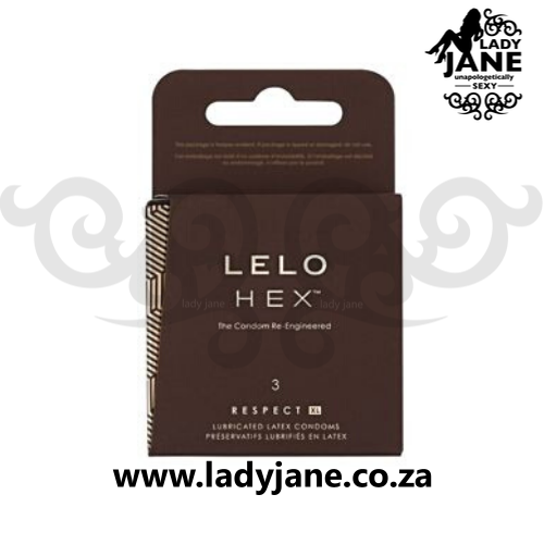 Condoms XL 58 mm Lelo Hex Respect (3)
