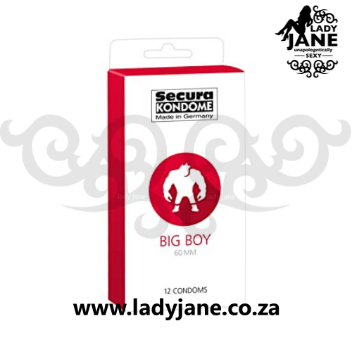 Condoms XL 60 mm Secura Big Boy (12)