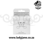 Condoms 54 mm Lelo Hex (3)