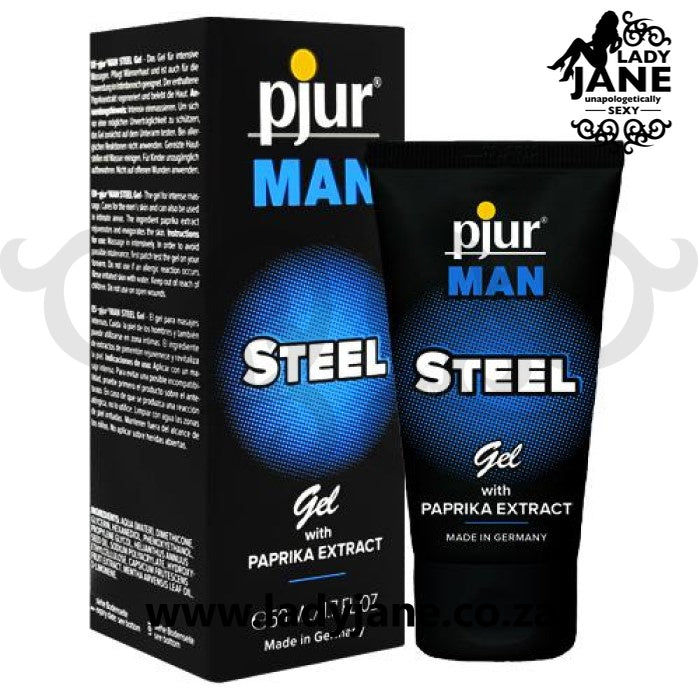 Gel Men Sensitising Pjur Man Steel Gel (50ml)