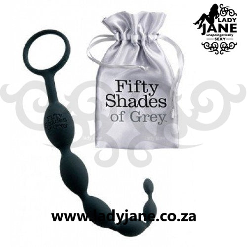 Fifty Shades of Grey Anal Beads - Pleasure Intensified