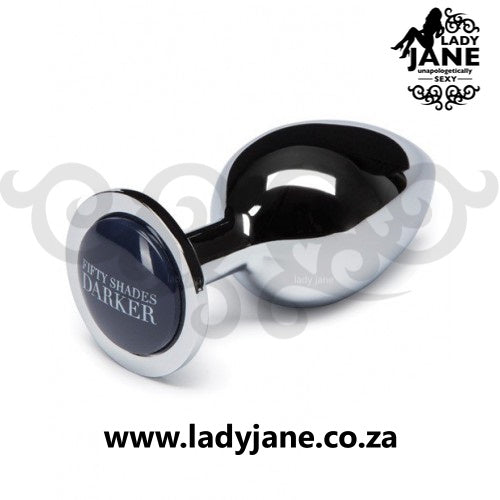 Fifty Shades of Grey Stainless Anal Plug - Dark Beyond Erotic