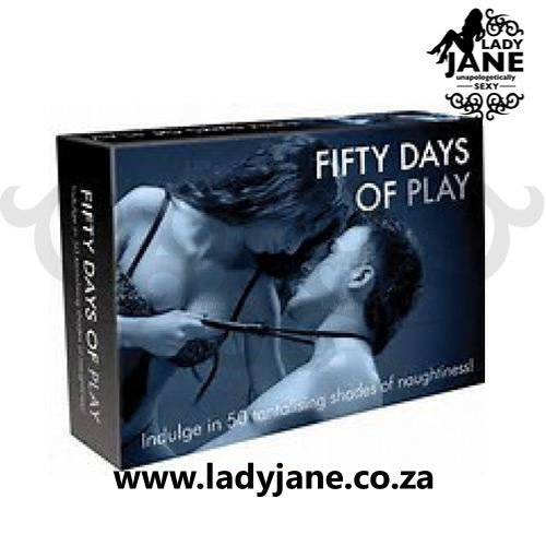 Fifty Shades of Grey Board Game | Fifty Days Of Play