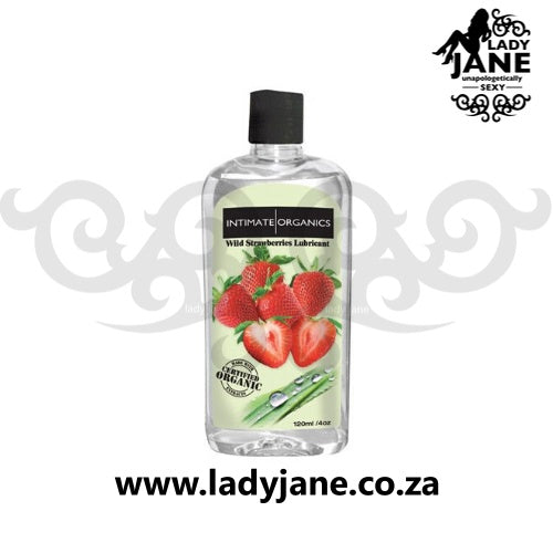 Lubricant Water Based Intimate Organics - Wild Strawberry (120ml)