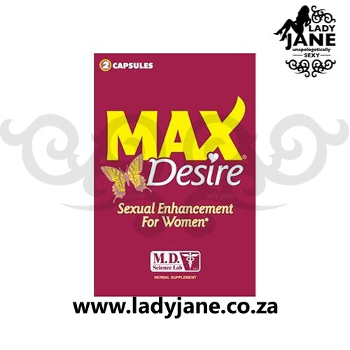Female Max Desire - 2 Pills