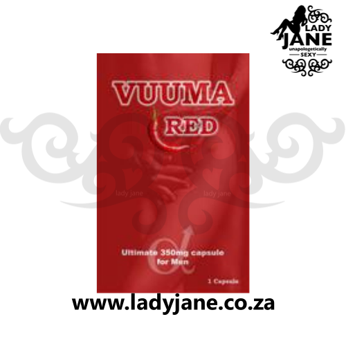 Pills for Men Vuuma 350mg Red (1)