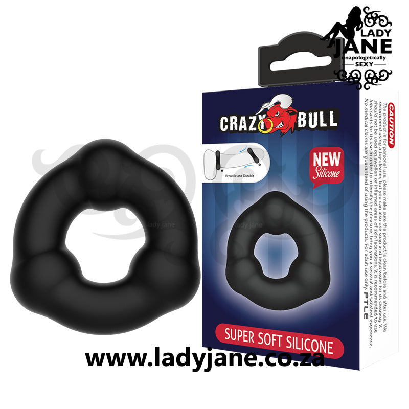 Cock Ring Baile | Crazy Bull Black