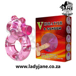 Vibrating Cock Ring Baile Bear - Pink