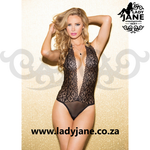 Teddy Lace Black Stretch Lace M