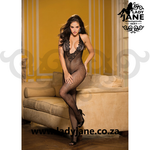 Bodystocking Black Fishnet