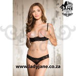 G String Black 32 only