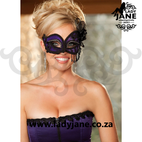 Mask Purple/Black