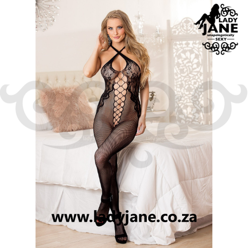 Bodystockings Black Fishnet