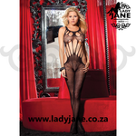 Bodystocking Black Butterfly