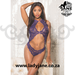 Teddy Purple Lace M