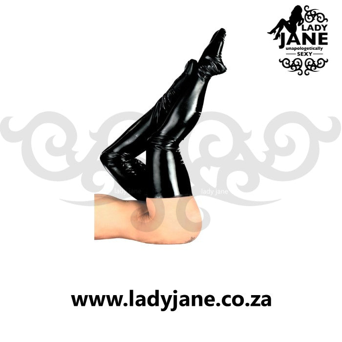Stockings The Latex Collection Black L/XL
