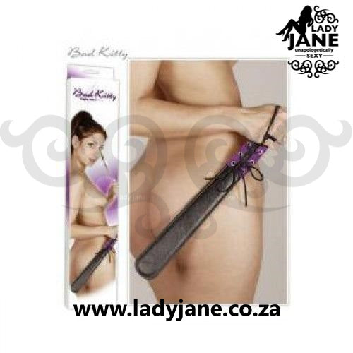Bondage Paddle Bad Kitty - Purple