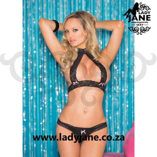 2pc Black Set Skimpy