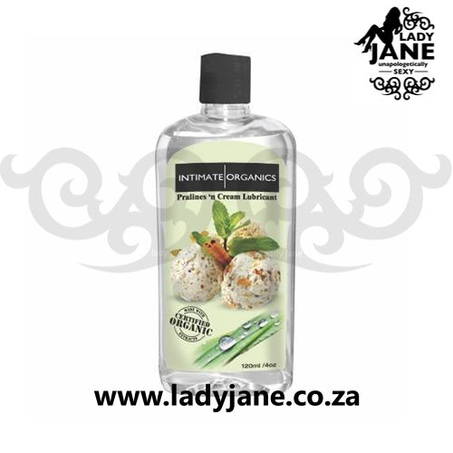 Lubricant Water Based Intimate Organics - Praline/Cream (120ml)