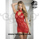 Queen Chemise Red