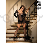 Chemise Black with Garter