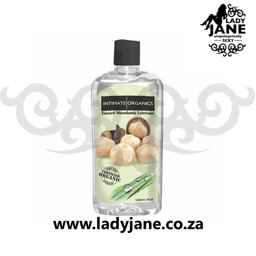 Lubricant Water Based Intimate Organics Macadamia (120ml)