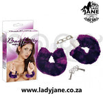 Hand Cuffs Bad Kitty - Purple