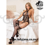 Queen Bodystockings Black Fishnet