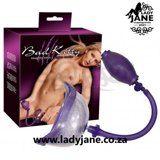 Female Vagina Pump Sucker Bad Kitty - Large