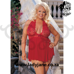 Babydoll Red Stretch Lace