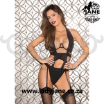 Teddy Black with Garters
