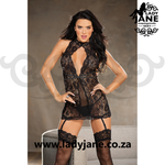 Chemise Black with G String M