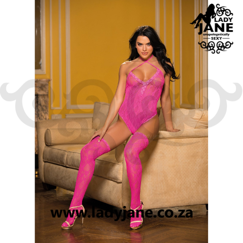 Teddy Pink Lace