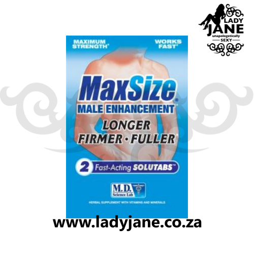 Pills for Men - Max Size (2)