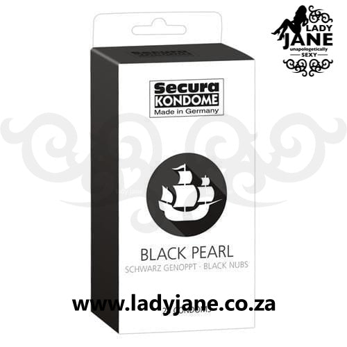 Condoms Secura Black Pearl (12)