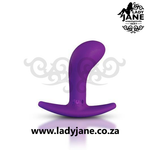 Anal Plug Bootie Medium - Purple Explore: extreme butt plug, dildo online shopping, best butt plug for men, best anal plug, remote control butt plug, large anal plug, anal tail, adult sex dolls, anal stretcher, tiny butt plug, diamond but plug, jewel anal, buy butt plug online, order sex toys, gay butt plug, penis butt plug, female butt plug