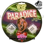 Glow In The Dark Novelty Dice - Paradice