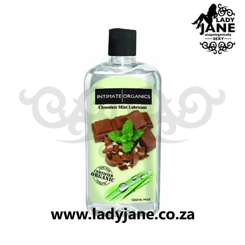 Lubricant Water Based Intimate Organics - Choc/Mint (120ml)