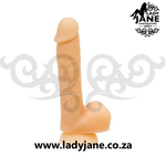 Addiction David Bendable with suction 8 Inch Dildo - Light