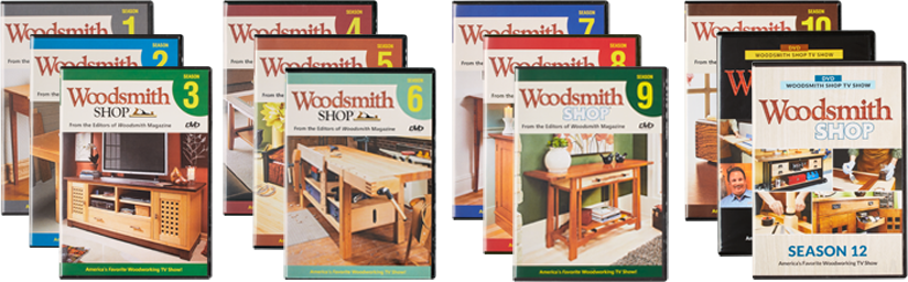 Woodsmith Shop Seasons 1-13 DVDs