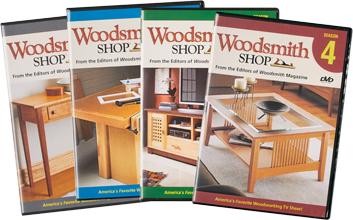 Woodsmith Shop Seasons 1-4 DVDs