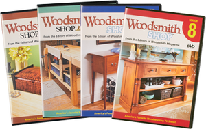 Woodsmith Shop Seasons 5-8 DVDs