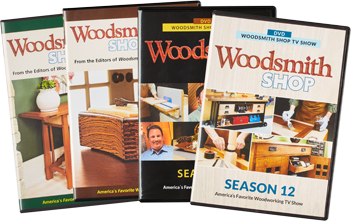 Woodsmith Shop Seasons 9-12 DVDs