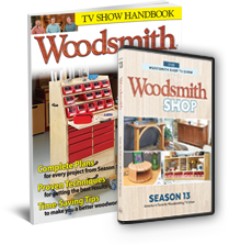 Woodsmith Shop Season 13 DVD + Accompanying Handbook
