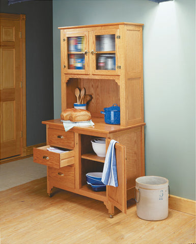 Hoosier-Style Cabinet - Plans and Hardware Kit
