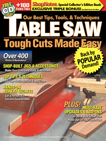 Table Saw: Tough Cuts Made Easy