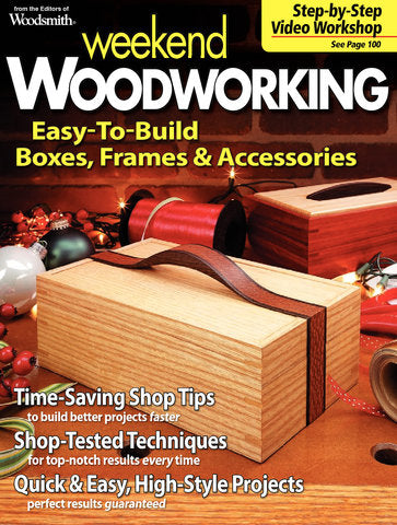 Weekend Woodworking, Volume 3
